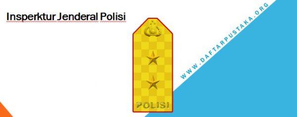 Lambang pangkat Inspektur Jenderal Polisi
