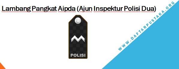 Lambang Pangkat Aipda (Ajun Inspektur Polisi Dua)