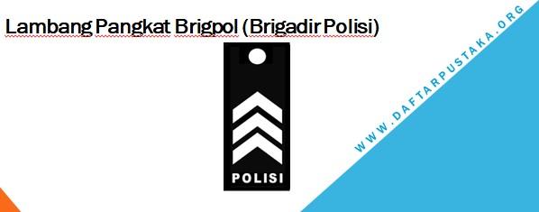 Lambang Pangkat Brigpol (Brigadir Polisi)