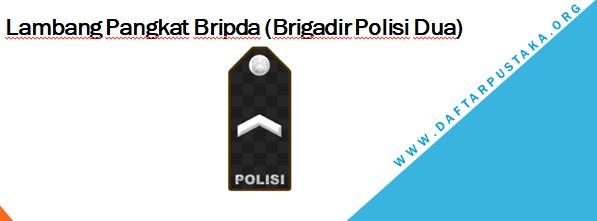 Lambang Pangkat Bripda (Brigadir Polisi Dua)