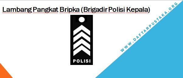 Lambang Pangkat Bripka (Brigadir Polisi Kepala)