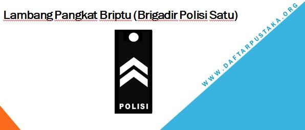 Lambang Pangkat Briptu (Brigadir Polisi Satu)