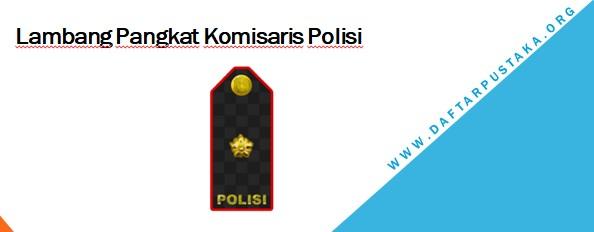 Lambang Pangkat Komisaris Polisi