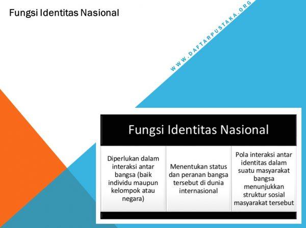 Fungsi Identitas Nasional