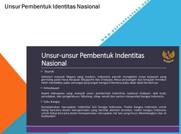 Unsur Pembentuk Identitas Nasional