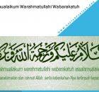 Assalamualaikum Warahmatullahi Wabarakatuh