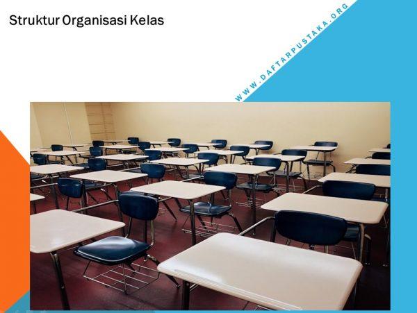 Contoh Struktur Organisasi Kelas