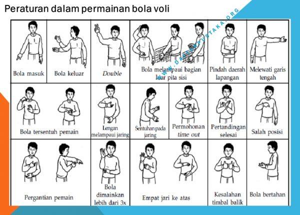 Peraturan dalam permainan bola voli